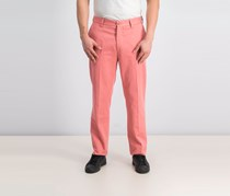 Hackett Men's Military Chino Pants, Coral Dust Pink