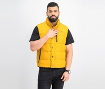 Hackett Men's Classic Gilet, Vintage Gold
