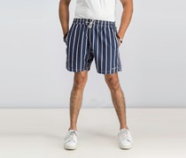 Hackett Men's Volley Stripe Short, Navy
