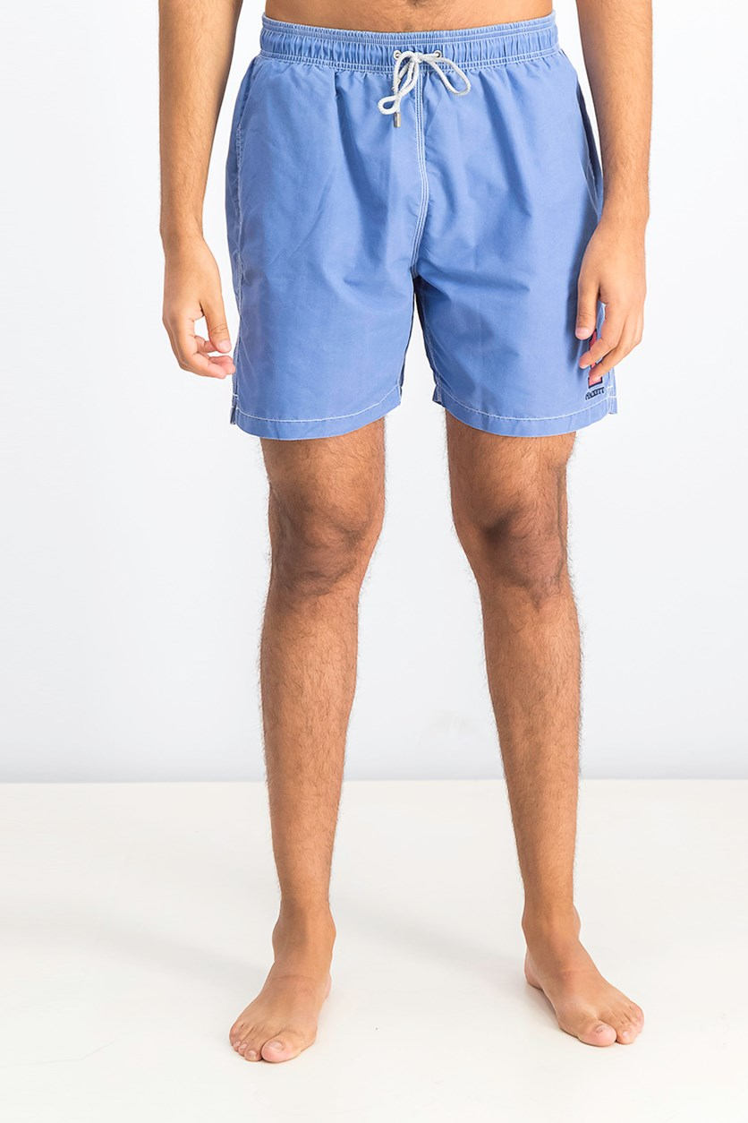 Men's Number Volley Short, Dark Blue