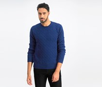 Men's Crew neckline	Sweaters, Navy Blue