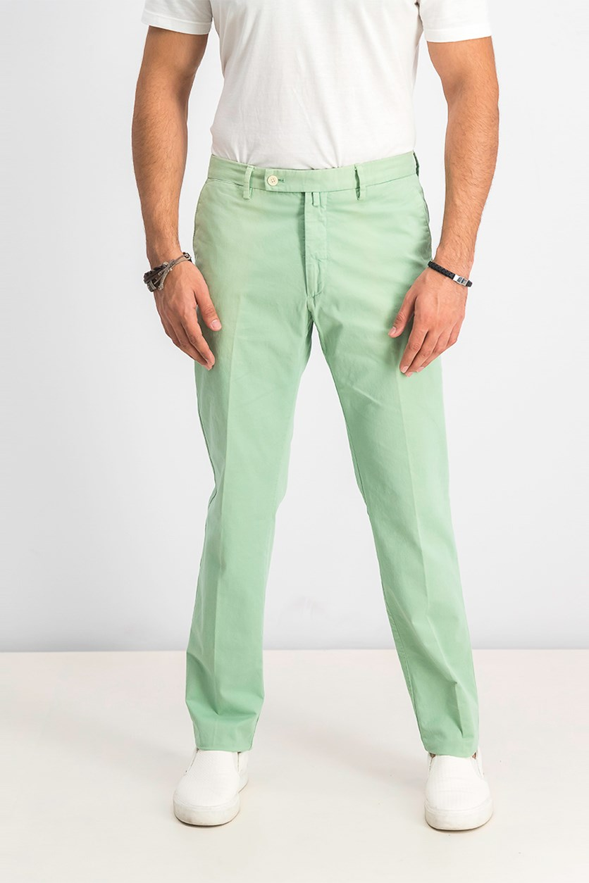 Men's Sanderson Tailored Chino Pants, Green