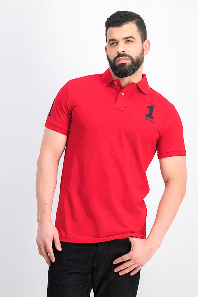 Men's Polo Shirt, Red