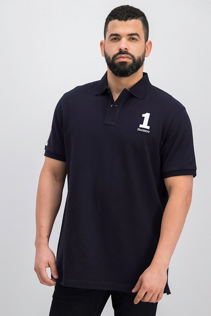 Men's Classic Fit Polo Shirt, Navy