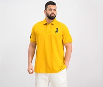 Hackett New Classic Numbered Polo Shirt, Gold