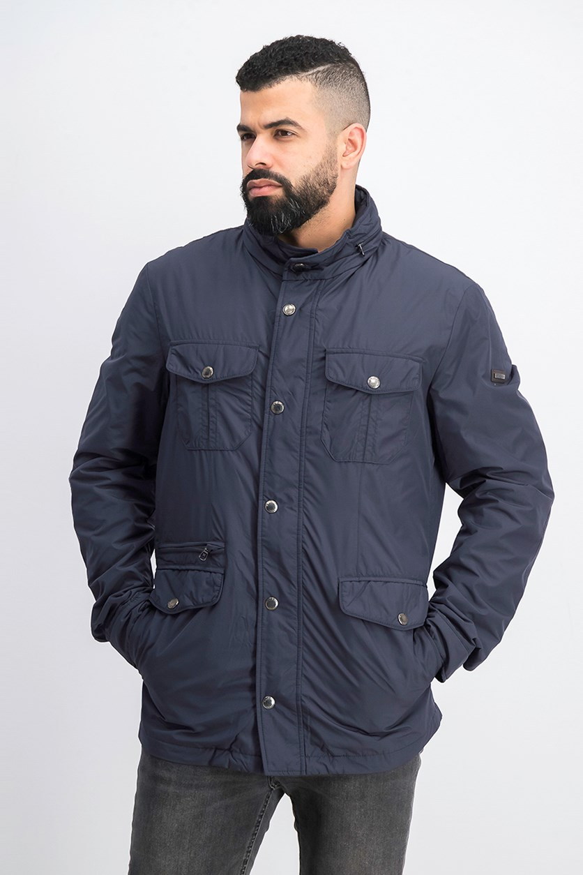 Men's City Holborn Long Sleeve Jacket, Navy
