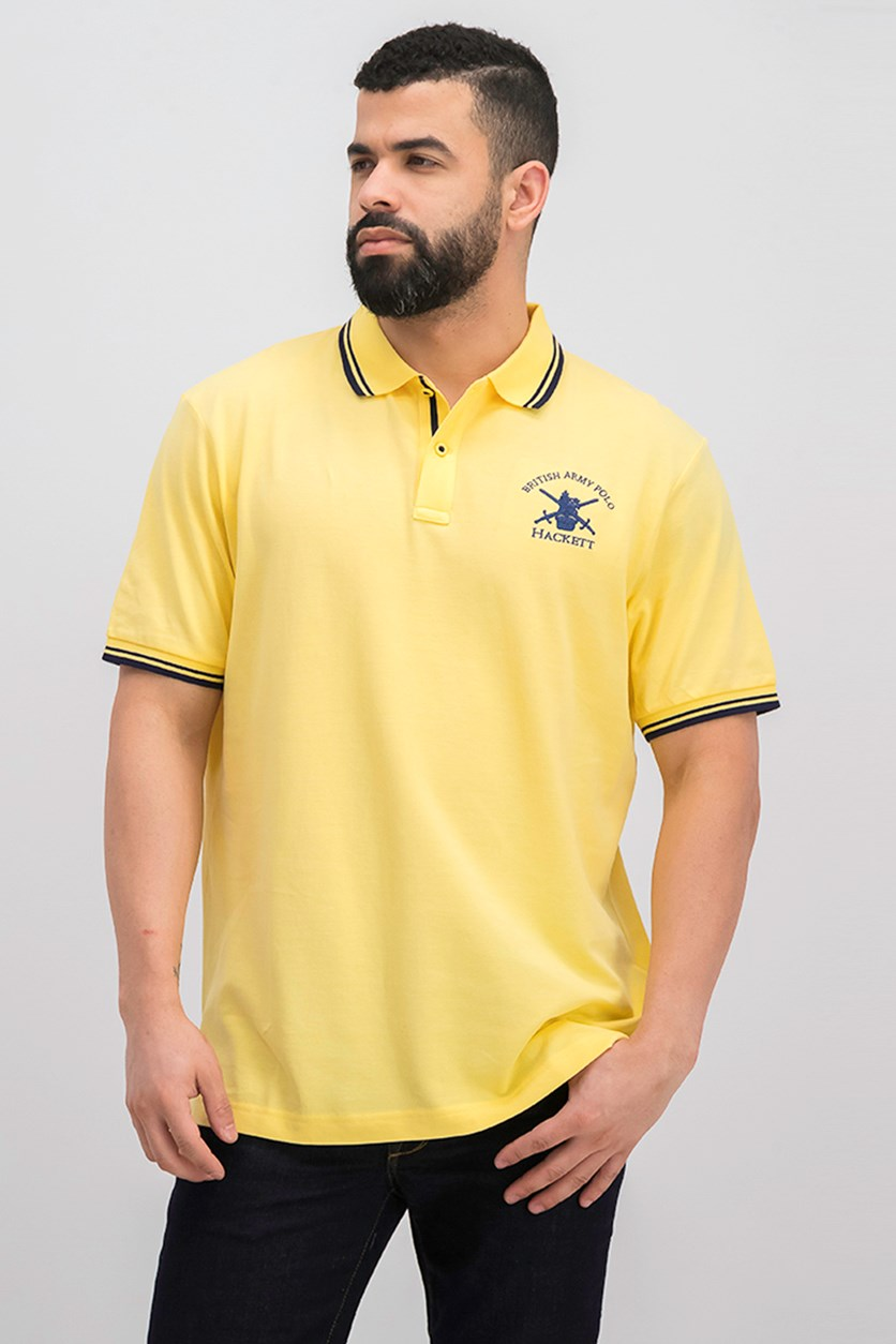 Men's Classic Polo Shirt, Yellow
