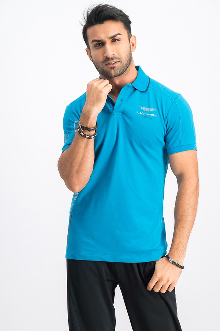 Herren AMR TC Panel  Polo, Blue