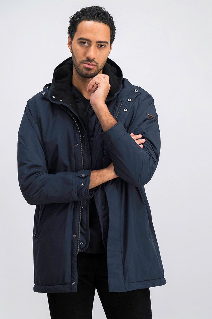 Men's City Parka, Navy