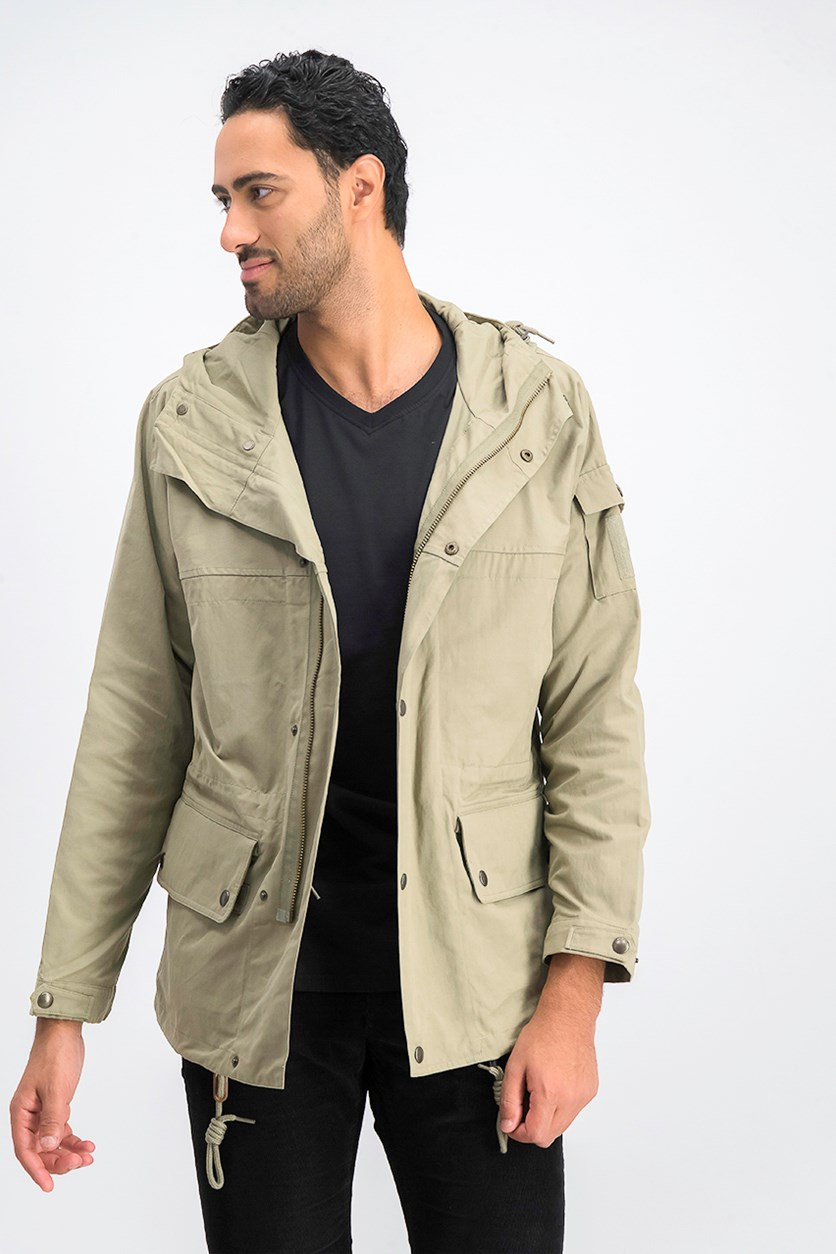 Men's London Men's Holt Parka, Vetiver