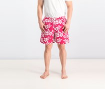 Men's Floral Board Short, Pink