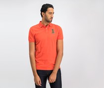 Hackett Men's Classic Fit Polo Shirt, Orange