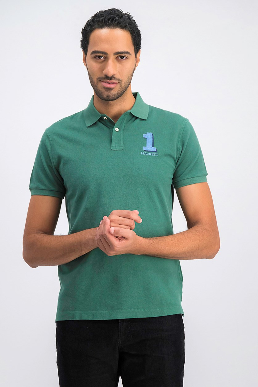 Men's Classic Fit Polo Shirt, Green