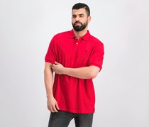 Men's Short Sleeve Slim Fit Polo Shirt, Red