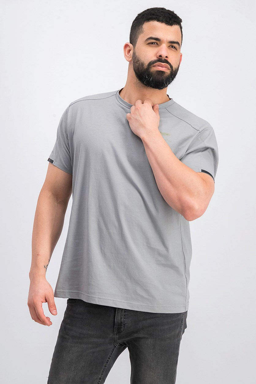 Men's Short Sleeve Top, Grey