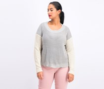 Women's Sweater Lee Stitch Fix App, Cream/Gray