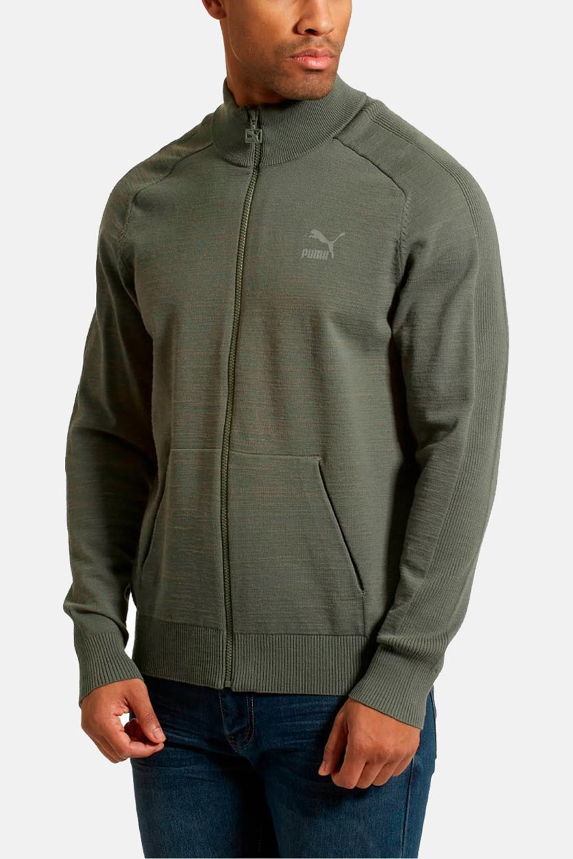 Men's T7 Evoknit Jacket, Castor Grey