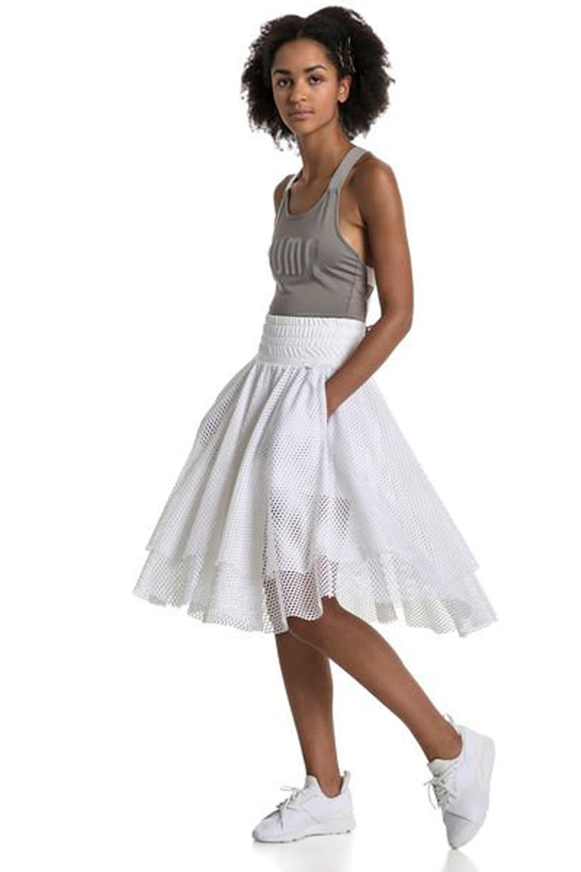 Women's Pointe Skirt, White