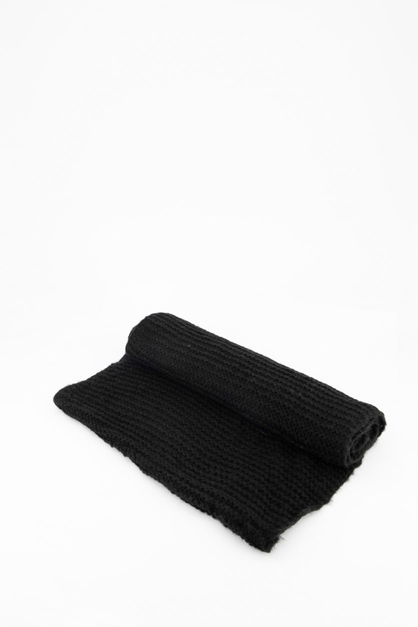 Ladies Muffler, Black