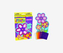 The Orb Factory Sticky Mosaics Flower Play Set, Purple Combo