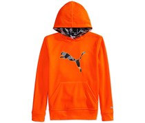 Puma Boys' Big Cat Hoodie, Orange