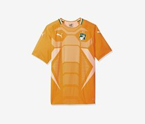 Puma Men's Football Shirt, Orange