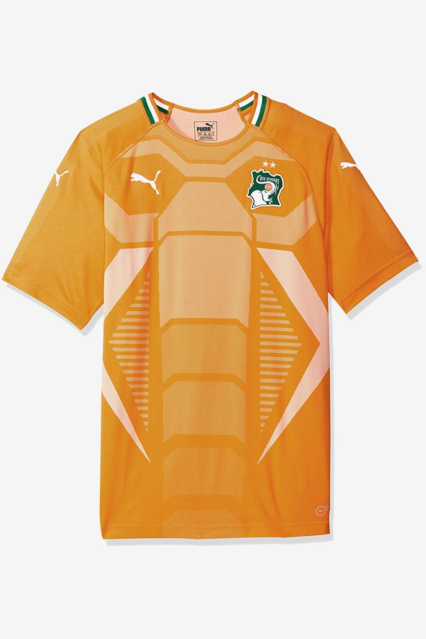 Men's Football Shirt, Orange