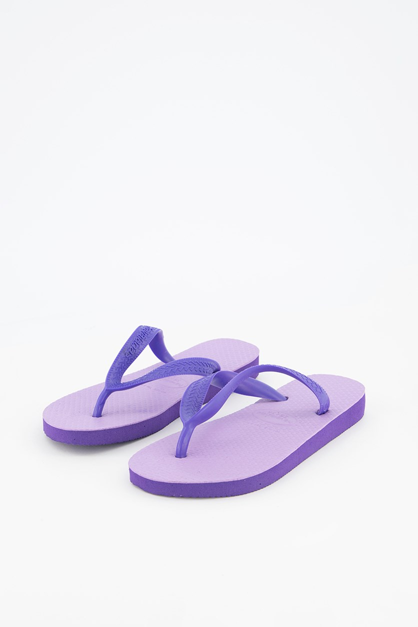 Womens Style 1 Color Up Flip-Flop Thong Sandals, Soft Lilac