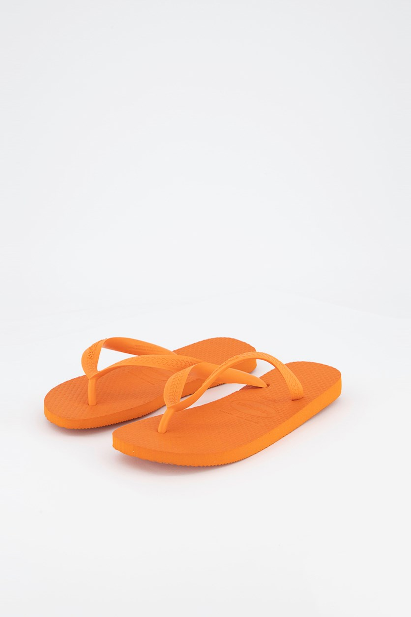 Women's Slippers, Neon Orange