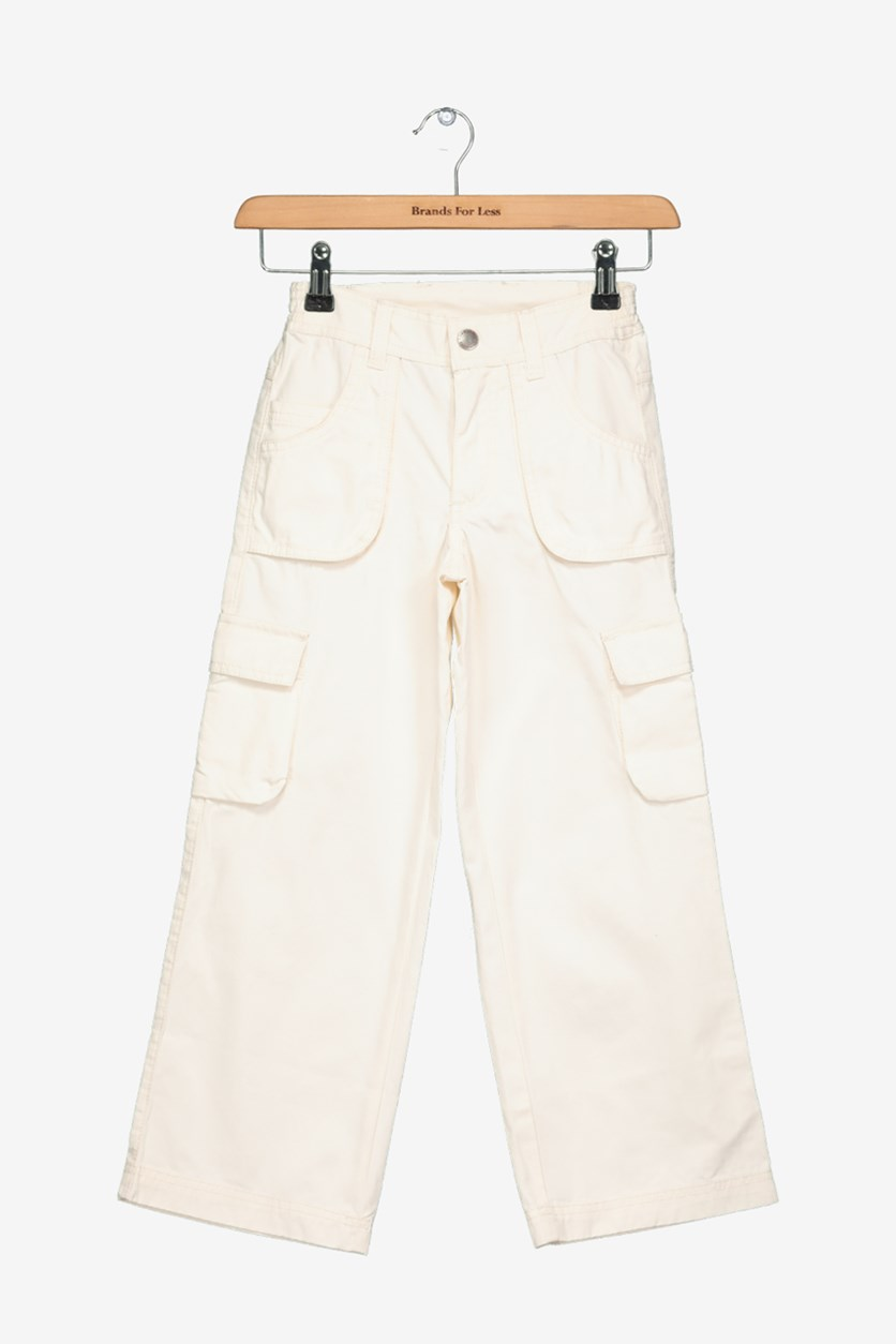 Academy Boy's Classic Pants, Off White