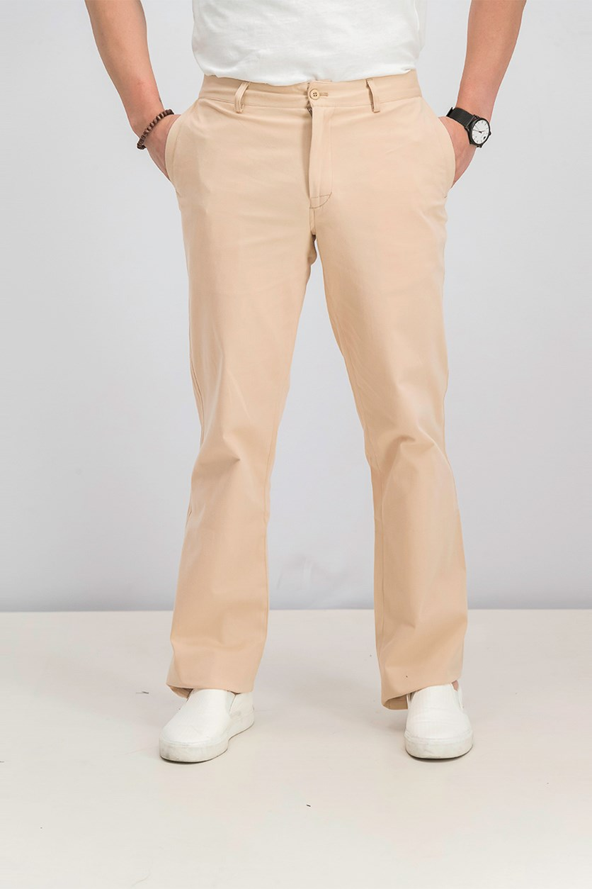 Men's Sports Pants, Light Brown