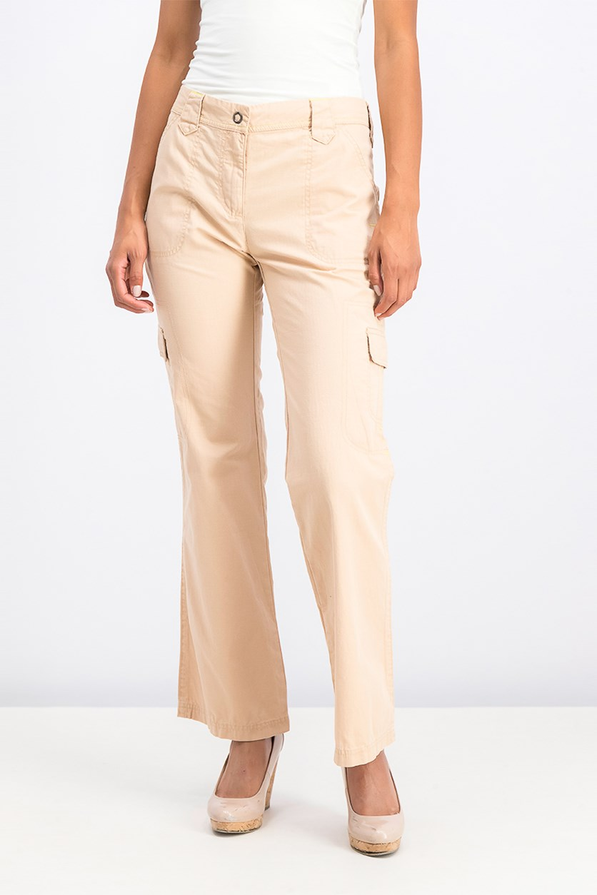 Women's Pants, Light brown