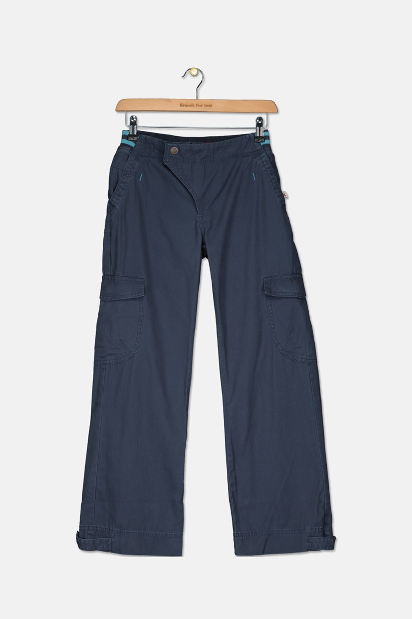 Boy's Cargo Pants, Navy