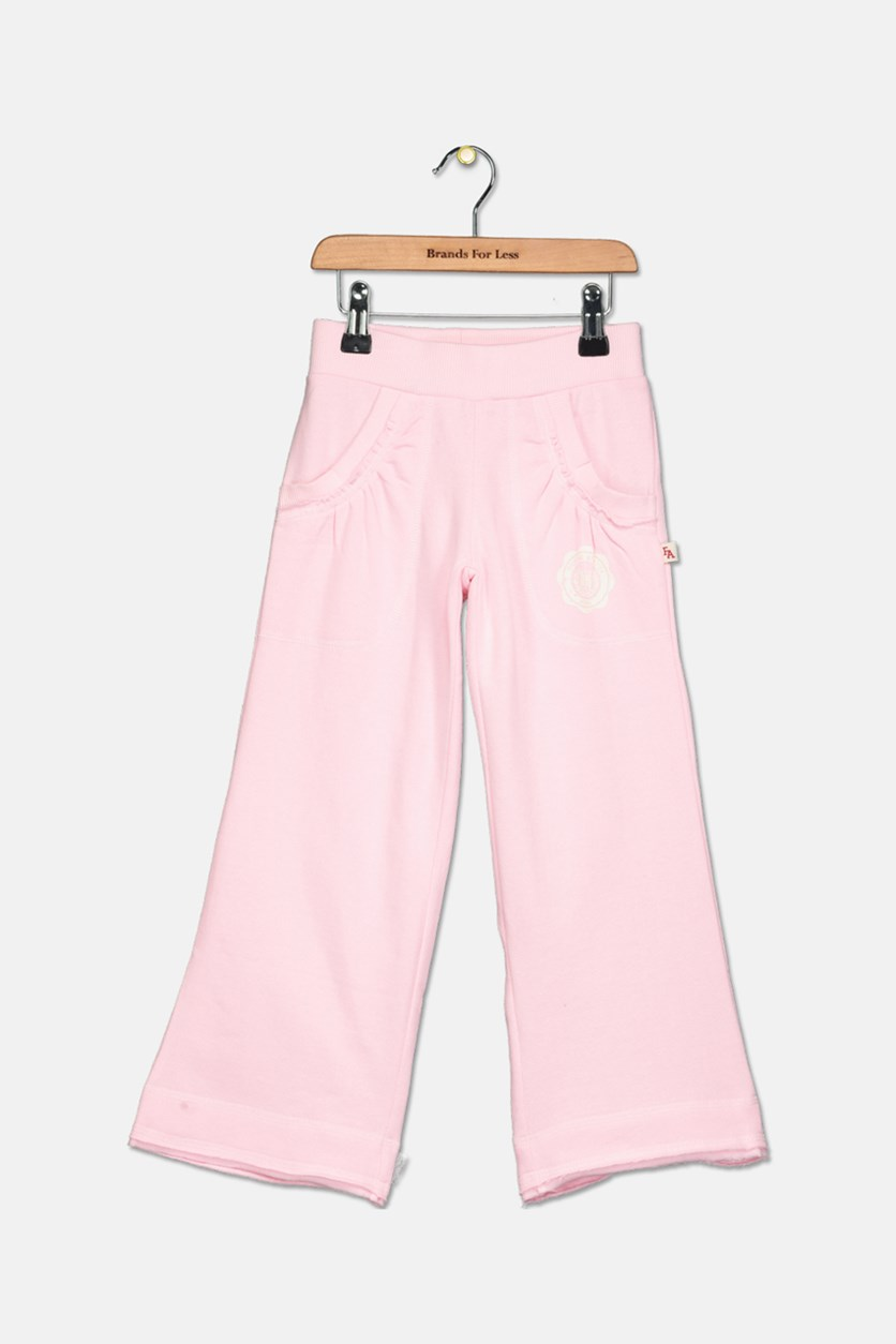 Toddler Pull On Pants, Light Pink