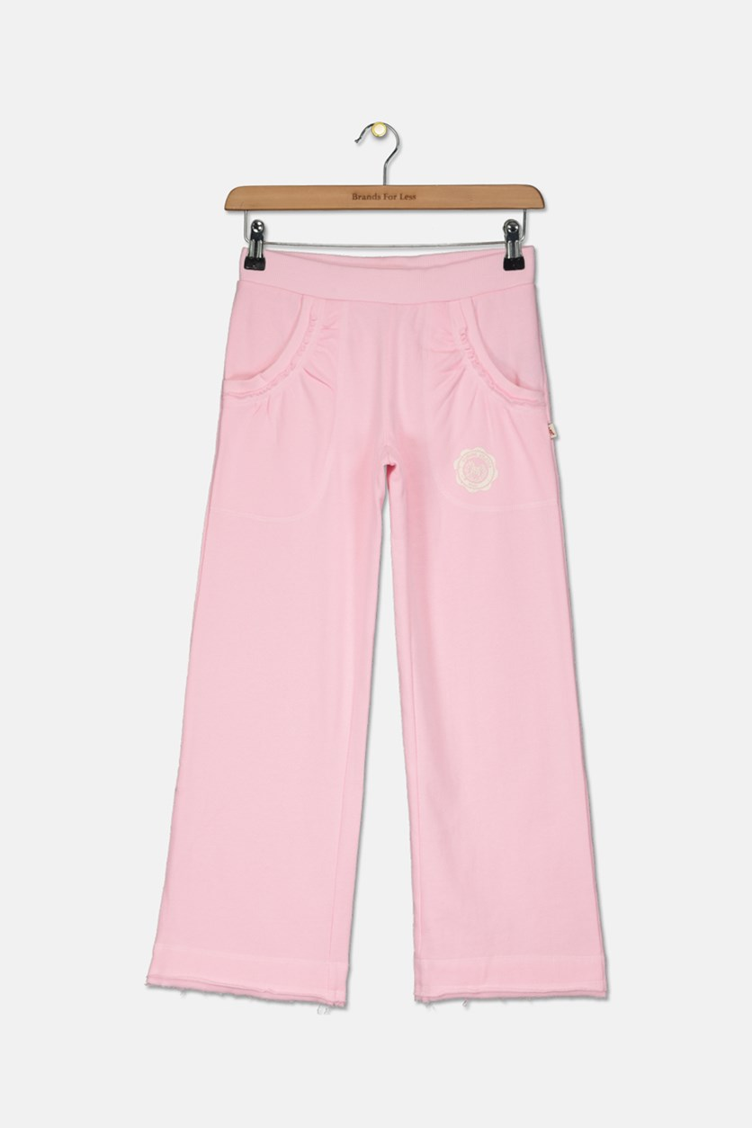 Girls Pull On Pants, Light Pink