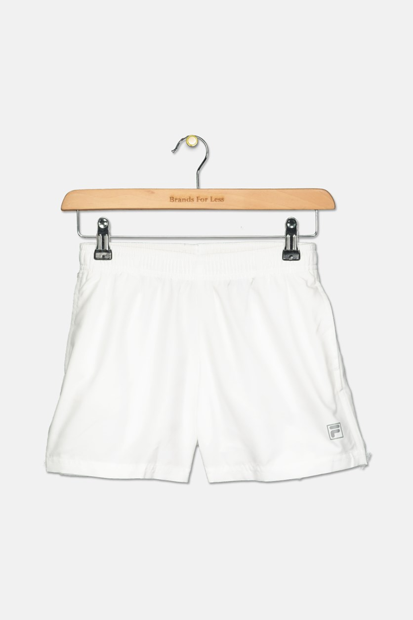 Kids Girl's Pull-On Short, White