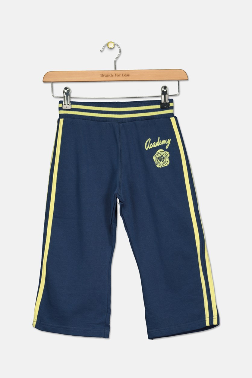 Kids Girl's Capri Pants, Navy