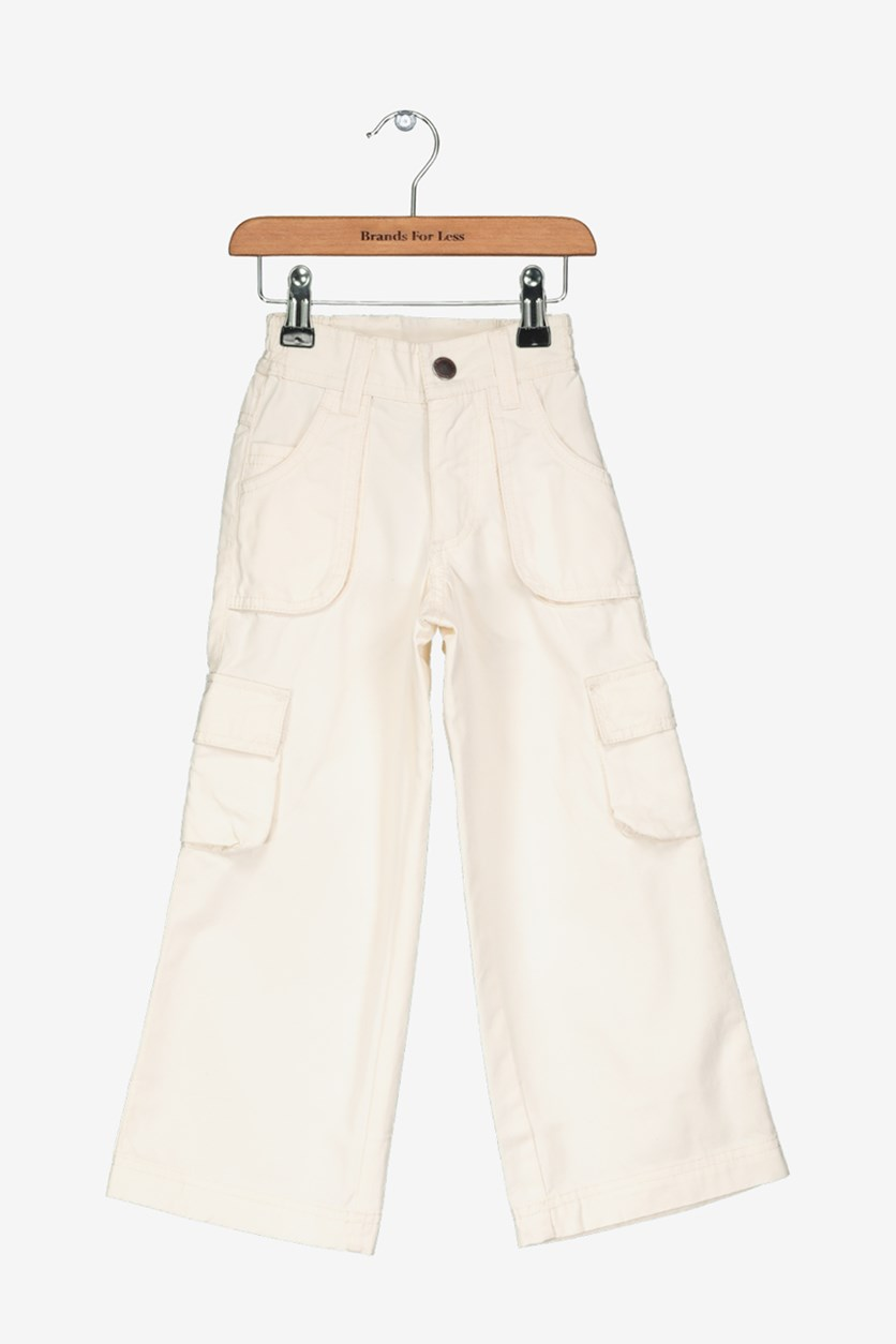 Academy Little Boy's Cargo Pants, Off White