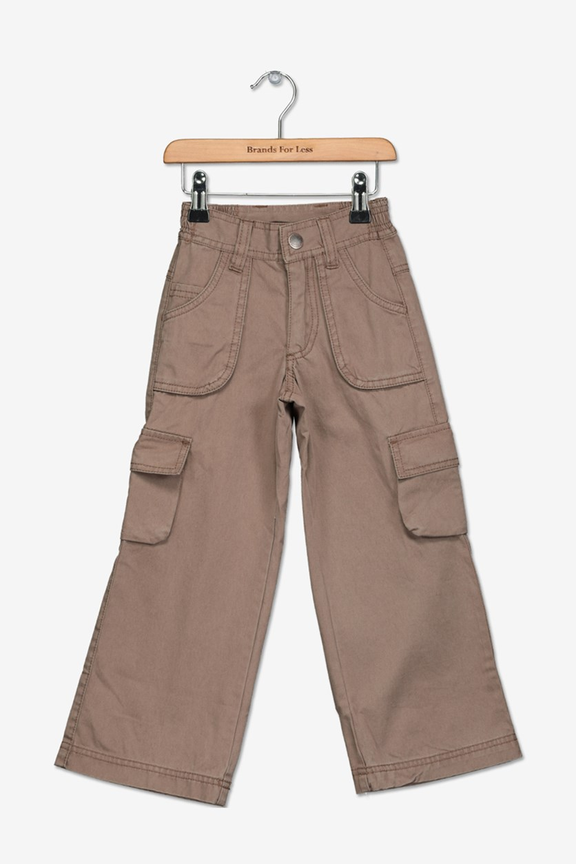 Academy Little Boy's Cargo Pants, Brown