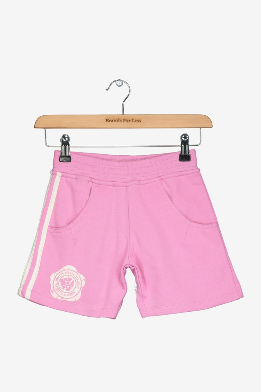 Academy Little Girl's Graphic Print Short, Pink