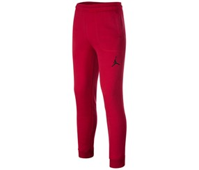 Jordan Boys' Fleece Pants, Red