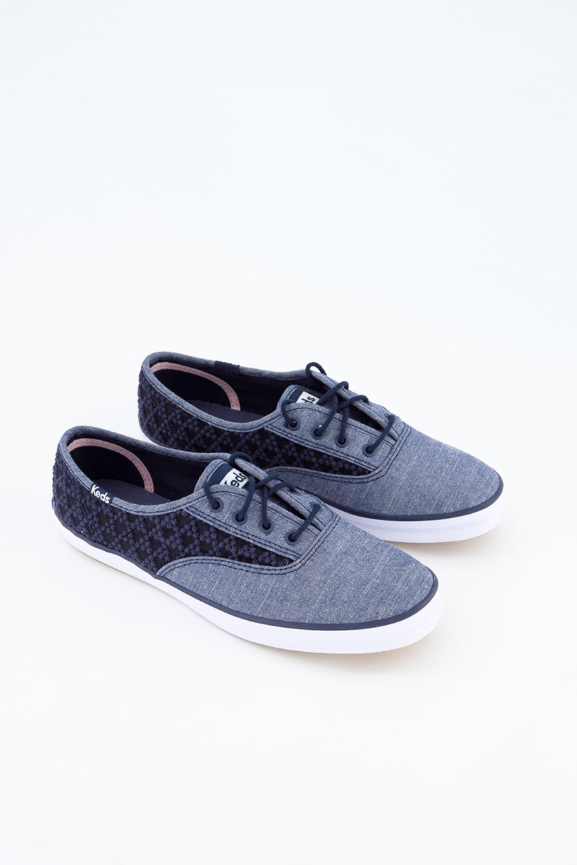 Chember Triangle Women's Casual Shoes, Navy