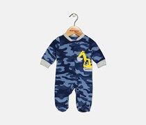 Carter's Toddler Boy's Camo-Print Footed Coverall, Navy
