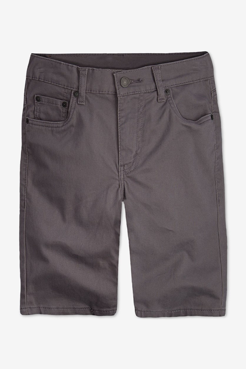 Boy's 511 Sueded Shorts, Athracite