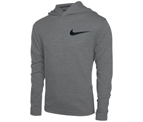 Nike Little Boys' Dri-fit Training Hoodie, Grey