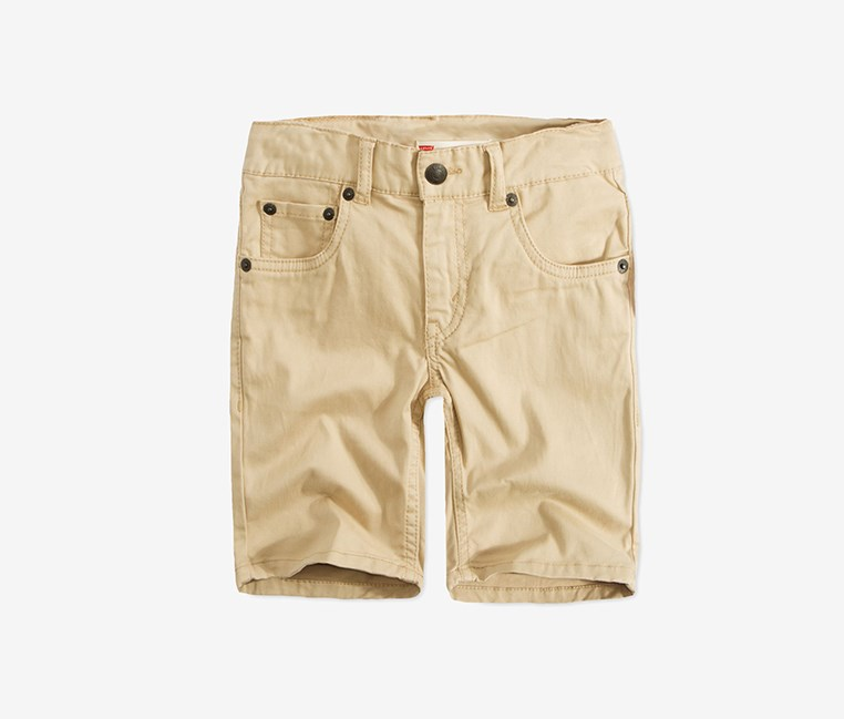 Levis 511 Big Boys Sueded Shorts, Cement