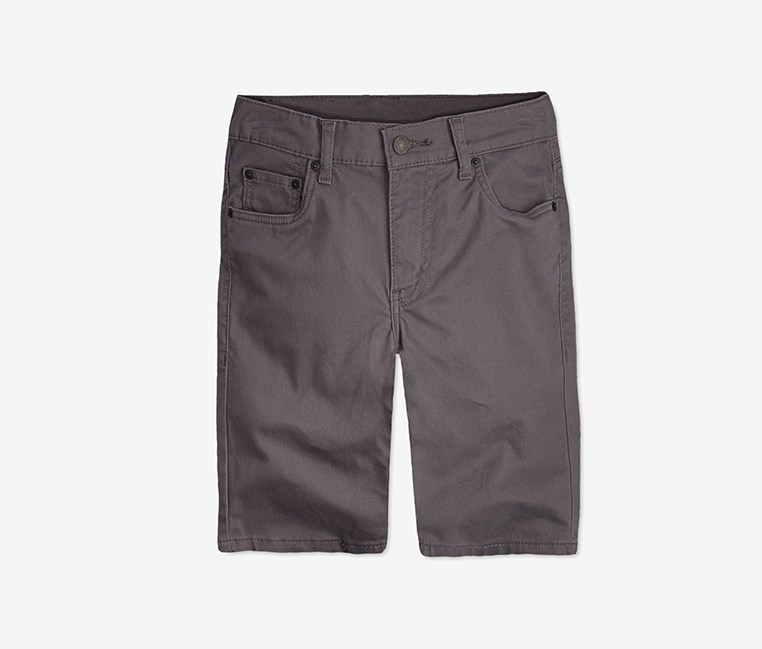 511 Sueded Shorts, Med Grey