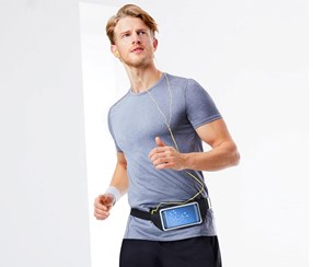 Sports Belt For Smartphones, Black