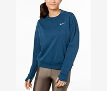 Nike Therma Sphere Element Running Top, Heather Blue