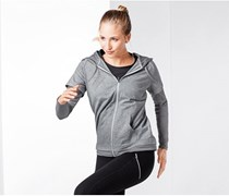Women's training Jacket, Grey